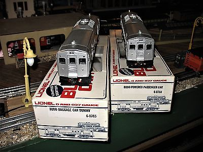 Near Mint Lionel Baltimore And Ohio 8764 & 8765 Budd Cars