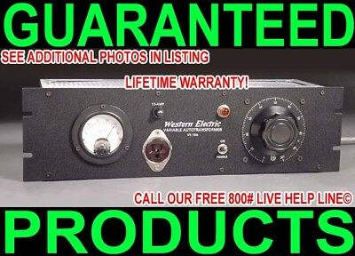 New Western Electric Variac For Vintage 300B 2A3 Tube Audio Amplifier Rackmount