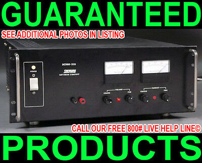 Sorensen Dcr 80-33B 0-80V@ 0-33A Automated Burn-In Oven Test Dc Power Supply Dc