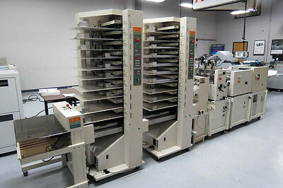Bourg BST-d 20-Bin Air-Feed Collator & Pro Series Booklet Maker – Duplo Horizon