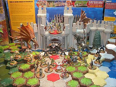 Rise of the Valkyrie 30 figures and 16 cards No Terrain Heroscape D&D RPG  minis
