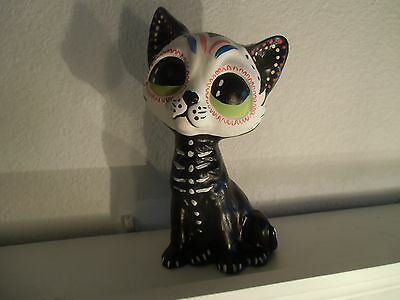 day of the dead -el gatito (  the cat)  hand made-