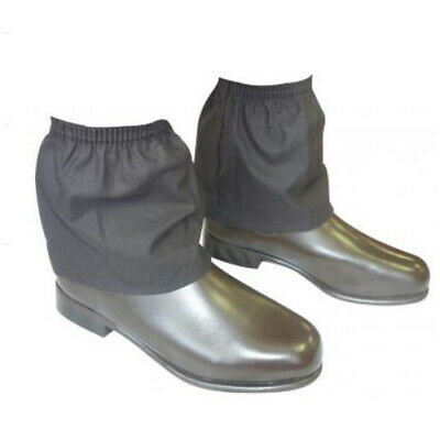 Oilskin Ankle Gaiters over boot sock saver protection Waterproof garden hay hike