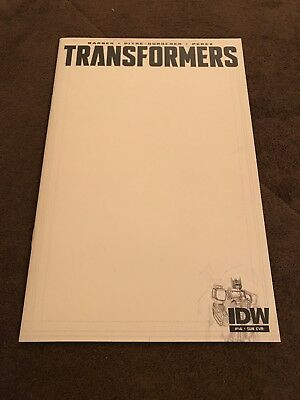Transformers #46 Subsription Blank Sketch Variant