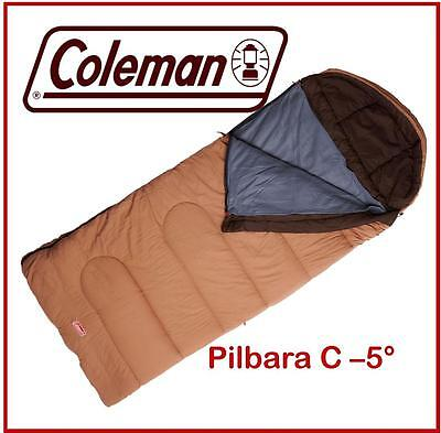 COLEMAN PILBARA C-5 DEGREE SLEEPING BAG -  r.r.p. $ 169.95 with removable liner