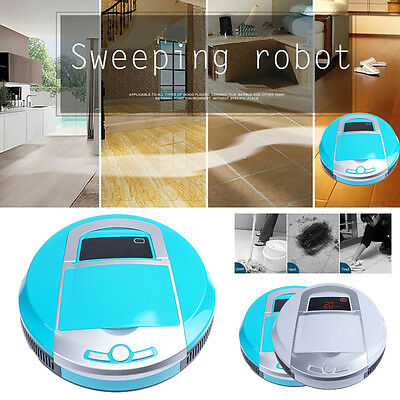 Smart Robotic Vacuum Cleaner Cordless Automatic Robot High Suction Floor Sweeper