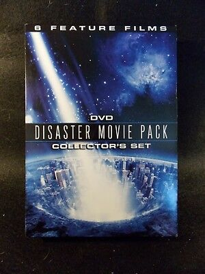 Disaster Movie Pack - 6 Films (3 DVD's, 2008) See Photos for Film Selection