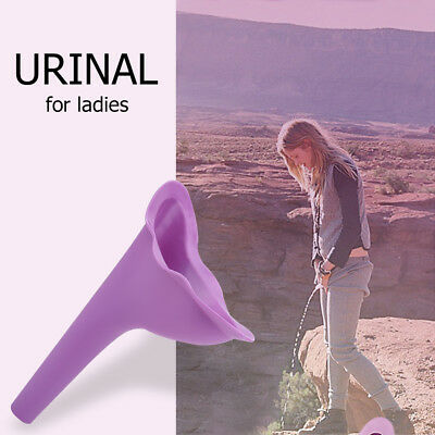 Women Portable Urinal Travel Outdoor Stand Up Pee Urination Device Case LJ