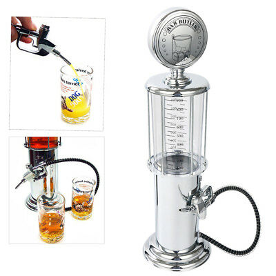 900cc Drink Beer Wine Pump Silver Gas Station Liquor Dispenser Machine Bar Home