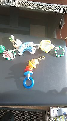 Baby Toys - Brio Pram Toy and Wooden doll toy