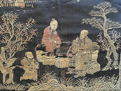 A Chinese Qing Dynasty Textile Panel.