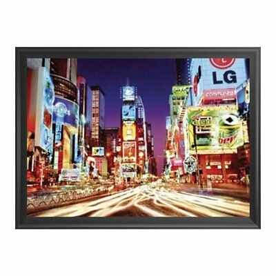 Times Square City Lights - Framed