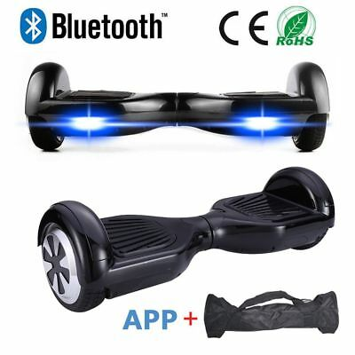 "2 Wheels Self Balancing Electric Scooter Self Balance Board 6.5""  New +Free Bag"