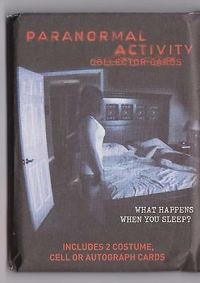 Paranormal Activity Collector Cards Single Sealed Pack Of Trading Cards