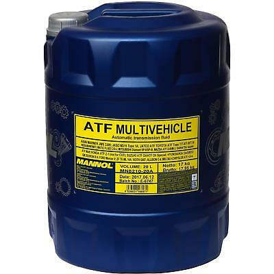 20 Liter Original MANNOL MN8210-20  ATF Multivehicle Automatikgetriebeöl Oil