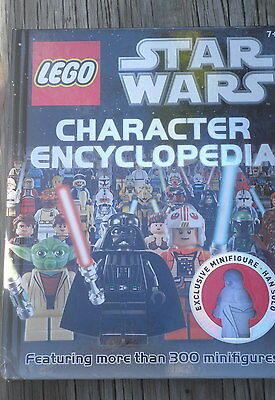 LEGO STAR WARS CHARACTER ENCYCLOPEDIA - ages 7+ -207 pages - illustrated