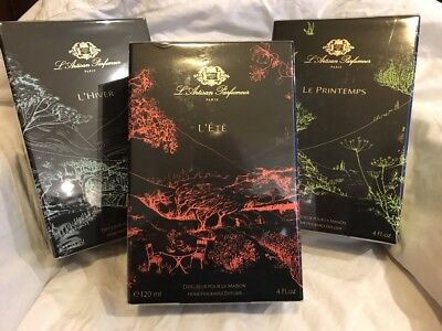 L'Artisan Parfumeur Home Fragrance Diffusers X3 New Boxed Sealed