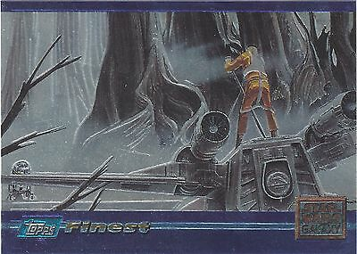 TC 1996 Star Wars Finest Galaxy SWGM4 Promo Card