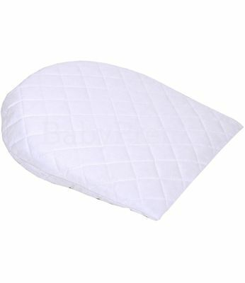 BabyPrem 36x31cm Baby Anti Reflux Colic Oval Pillows Wedge Cushion Crib Cradle