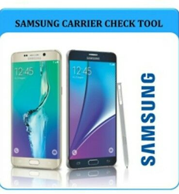 Samsung Sim Lock Status Carrier Network Check Service - Worldwide Service