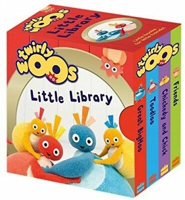 Twirlywoos Little Library (Twirlywoos) (Board Book)