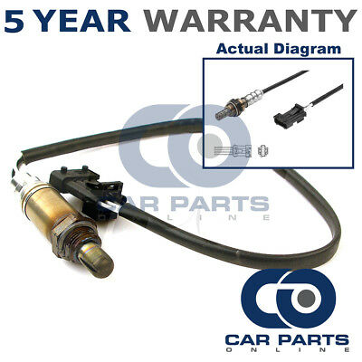 Front 4 Wire Oxygen O2 Lambda Sensor Direct Fit For Saab 9-3 9-5 2.0 2.3