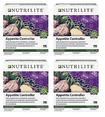 4x Appetite Controller by AMWAY NUTRILITE Appetitzügler Diät ohne Hungergefühl