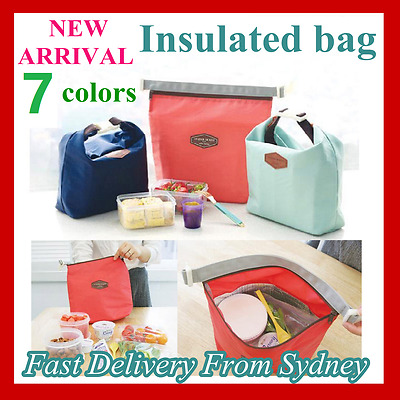 Thermal Waterproof Foil Insulated Lunch Bag Cooler Bag Picnic Lunch Storage Bag