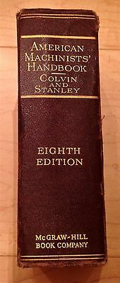 American Machinists' Handbook and Dictionary of Shop Terms by Colvin and Stanley