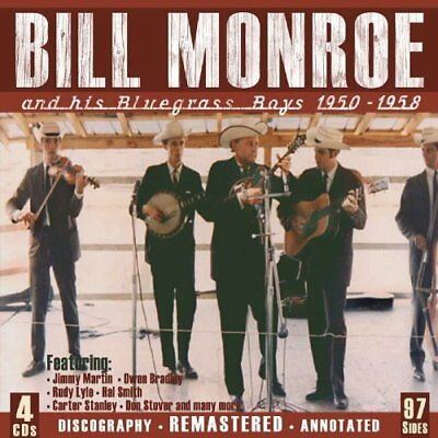 """""""Monroe,Bill""""-And His Bluegrass Boys 19  (US IMPORT)  CD NEW"""