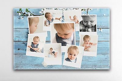 Personalised Photo Canvas Collage Your Photos High Quality Large Canvas Print