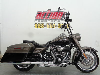 Harley Davidson Road King  2014 Harley Davidson Road King CVO Screamin' Eagle touring financing shipping
