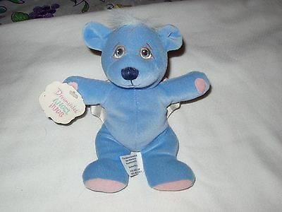 "Dreamsicles Angel Hugs Plush "" Bluebeary"" DOB 08/28/1998 8"""