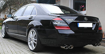 "Mercedes Benz S500 V8 5,5l Distronic 21"" BRABUS Paddle Air AHK Entertain Exhaust"