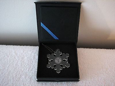 Dept 56 Snowflake Ornament NEW IN BOX