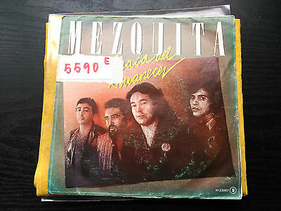 Single Promo Mezquita - Resaca Del Amanecer - Chapa Spain 1981 G+/vg+