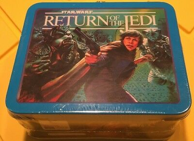 Hallmark School Days 2Nd Edition Star Wars Return Of The Jedi Lunch Box New