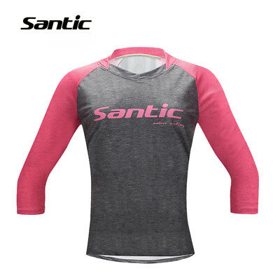 Santic Womens/Ladies Casual Cycling T shirt Long Sleeve Bike Bicycle Top Clothes
