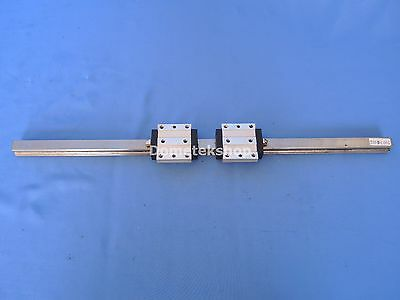 Rexroth 1631-11X-10 guide block and rail