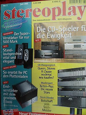 Stereoplay 7/95 Meridian 504,501,ares Jet Monitor,cabasse Egea,energy C 6,iq 100