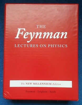 Feynman Box for Lectures on Physics. Books Not Included