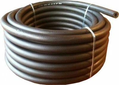 Fuel Pipe Rubber Cotton Braided Unleaded 3.2mm - 16mm Choose Diameter & Length