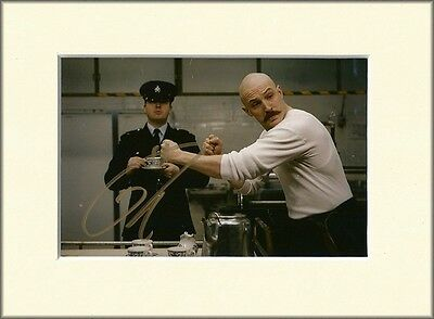 TOM HARDY BRONSON PP 8x10 MOUNTED SIGNED AUTOGRAPH PHOTO