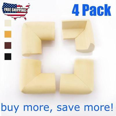 4 Pack Baby Safety Table Corner Cushion Guard Strip Softener Bumper Protector