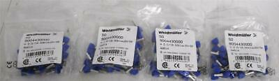 (200) Weidmuller 9004430000 Wire End Ferrule H 2,5/18,5D ZH SV (4 Bags of 50)