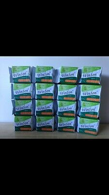 Box Of 16 Winalite Anion Love moon  (Winion) Panty Liners Pads Sanitary Napkins