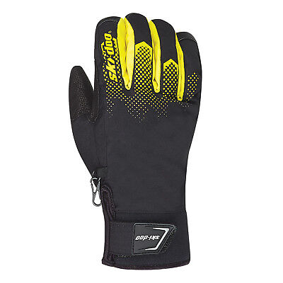 2018 Ski-doo Grip Gloves - Sunburst Yellow
