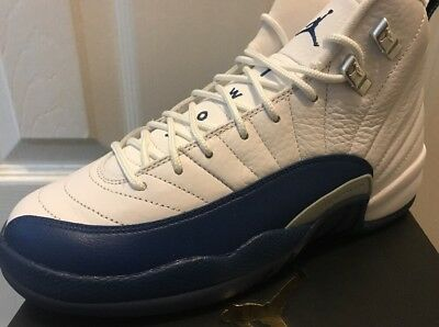 New NIKE AIR JORDAN RETRO 12 XII FRENCH BLUE GS SIZE Youth 6.5Y Women's 8