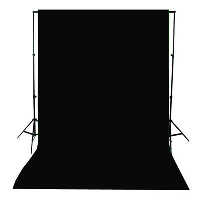 6x9ft Cotton Muslin Backdrops Screen Photo Black Photography Digital Background