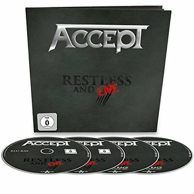 Accept-Restless And Live -Br+2Cd Earbook-  (UK IMPORT)  CD NEW